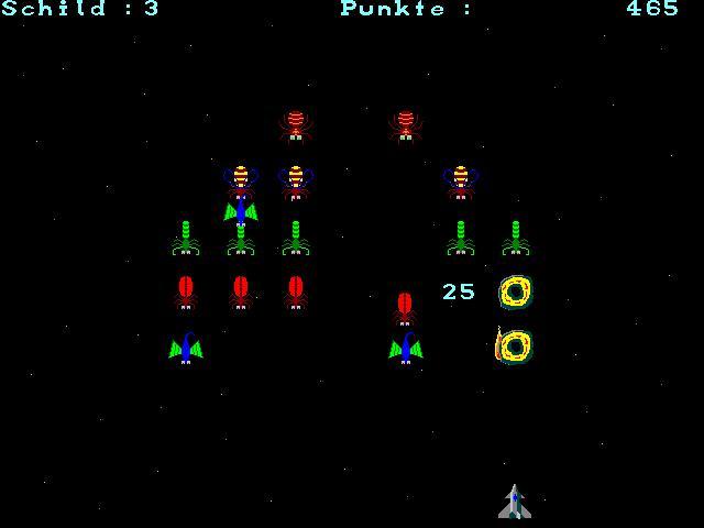 Screenshot vom Programm: Galaxorons
